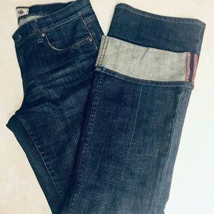 Pink brand bootcut jean.  💙 8 short